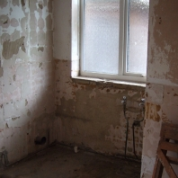 Bathroom (after strip out)