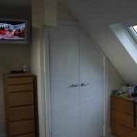 New wardrobe area