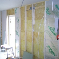 Internal insulation (garage)