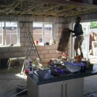 Internal insulation (kitchen)