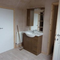 Vanity unit fitted